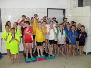 Boys relay winners
