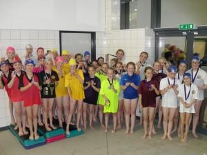 Girls relays winners